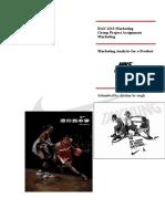 91724231 Marketing Project Nike