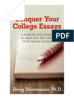 Conquer Your College Essays eBook