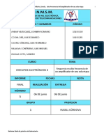 Informe Final 5 Electronicos