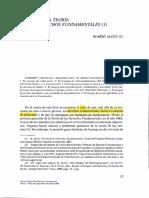 Alexy - Epílogo a La Teoría de Los DDFF