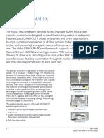 Nokia 7360 ISAM FX Shelf ANSI for POL DataSheet