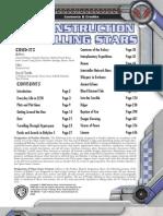 Babylon 5 RPG (2nd Ed.)-Deconstruction of Falling Stars