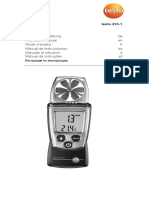 Testo 410 1 Instruction Manual