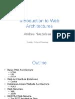 Web Architectures