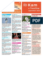 KAM v Trenčíne - september 2018
