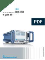 R&S®IQW Wideband I/Q Data Recorder - product brochure