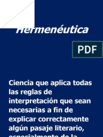 1- Introducción Hermenéutica