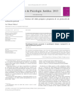 La Evaluación Psicológica Forense Del Daño Psíquico Propuesta de Un Protocolo De