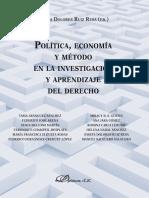 Política, Economía y Método en La Investigación y Aprendizaje De