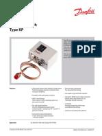 Danfoss Pressure Switch Type Kp