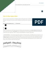 How to Play Legato GuiGuitar.com