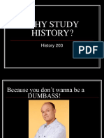 A.why Study History