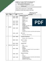Jadwal Pembagian Tugas Gnp 2017