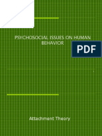 PSYCHOSOCIAL ISSUES ON HUMAN BEHAVIOR.ppt