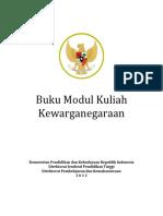 Buku Modul Kuliah Kewarganegaraan