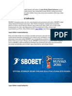 Agen Sbobet Resmi Indonesia.docx