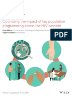 Programming key population across the HIV cascade