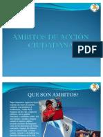 AMBITOS DE ACCIÓN CIUDADANA