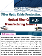 Fiber Optic Cable Production