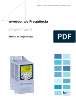WEG Cfw500 Manual de Programacao 10001469555 2 0x Manual Pt