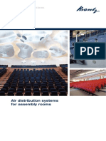 Air Distribution Systems for Assembly Rooms Krantz
