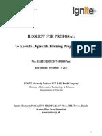 RFP Digiskills Training