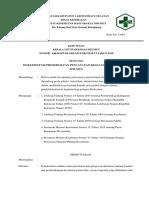 6.1.5.Ep 1 Sk Kepala Puskesmas Dan Sop Pendokumentasian Kegiatan Perbaikan Kinerja