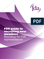 FDA guide to recruiting new members