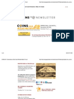 COINs 2010 Newsletter Conversations in How Social Networks Make Us Smart