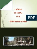 Sobre Créditos Acad DPA UMSS 2015