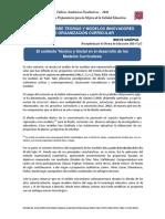 Teorías Modelos Innovativos Organización Curricular