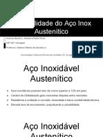 Usinabilidade do Aço Inox Austenítico