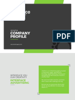 Interface Advertising Agency Company Profile & Portfolio