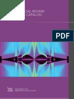 2019 APS Journals Catalog
