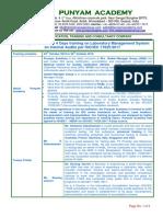 ISO 17025:2017 Internal Audit Training for Laboratory