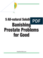 5 All-Natural Solutions for Banishing Prostate Problems For