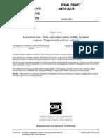 Norma Europea Biodiesel Fame Euro Standard Draft Oct02