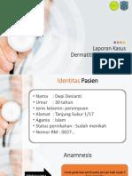 Laporan Kasus Dermatitis Kontak Iritan