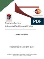 DOCTORADO Folleto Informativo 2014