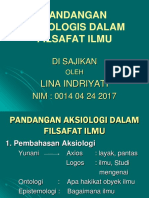 FIlsafat Ilmu Lina