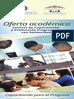 Brochure Oferta Académica en los CCPP