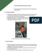 Metode Pelaksanaan Pekerjaan Plumbing