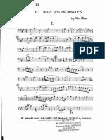 Chase Eight Trios for 3 Trombones - 3 Basun