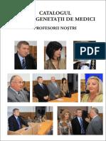 DR.LEOVEANU T.IONUT HORIA-Profesorii primei generatii de medici Vasile Goldis Arad 1998