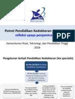 potret pendidikan kedokteran indonesia 2018 pptx 2.pdf