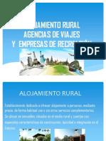 Alojamiento Rural, agencias de viajes,recreación