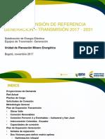 Plan Expansión y Referencia UPME COLOMBIA 2017
