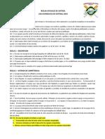 Reglamento Oficial Les 2016