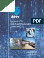 Sampling Guidance Manual