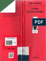 Durkheim - As regras do método sociológico.pdf
